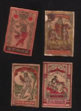 Collectible  match box labels CHINA or JAPAN patriotic #612
